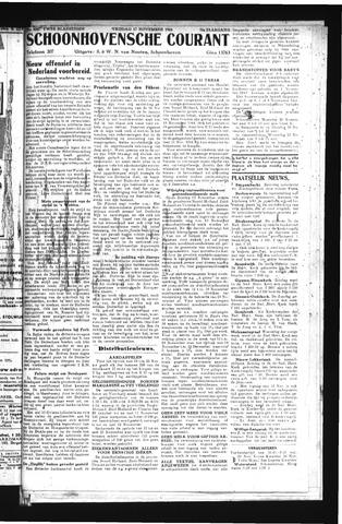 Schoonhovensche Courant 1944-11-17