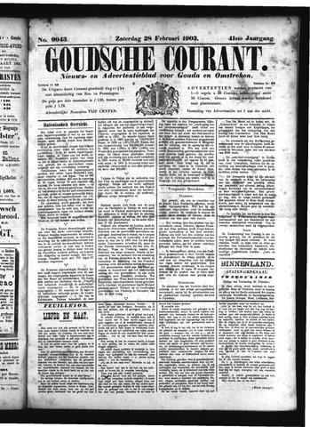 Goudsche Courant 1903-02-28