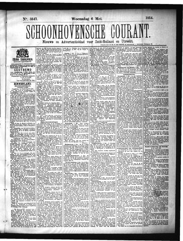 Schoonhovensche Courant 1914-05-06