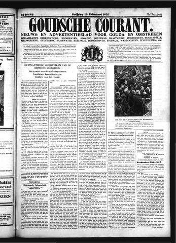 Goudsche Courant 1937-02-19
