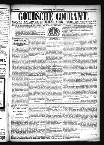 Goudsche Courant 1922-06-29