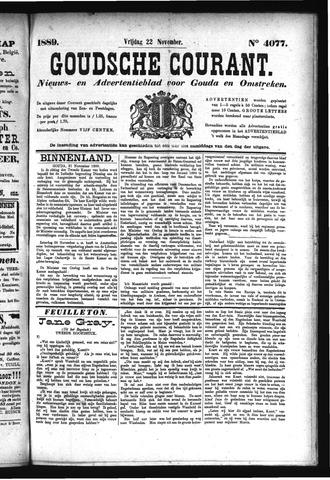 Goudsche Courant 1889-11-22