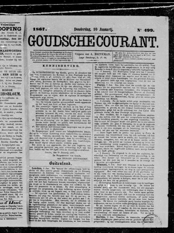Goudsche Courant 1867-01-10