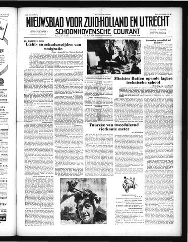 Schoonhovensche Courant 1952-06-09