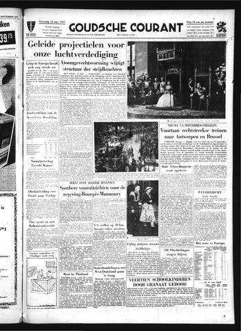Goudsche Courant 1957-09-18