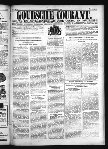 Goudsche Courant 1939-09-29