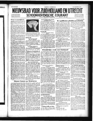 Schoonhovensche Courant 1947-11-05