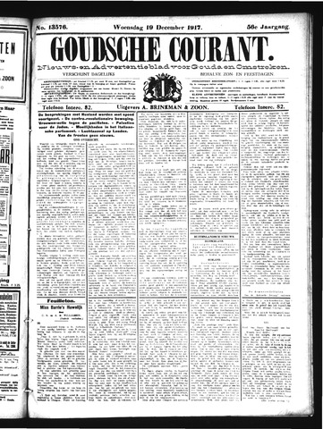 Goudsche Courant 1917-12-19