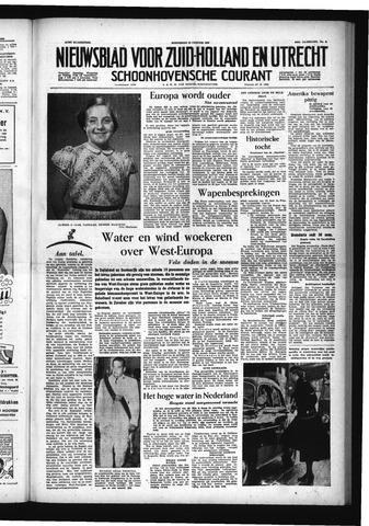 Schoonhovensche Courant 1955-01-19