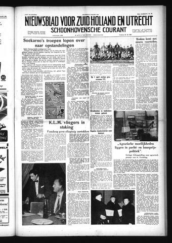 Schoonhovensche Courant 1958-03-17