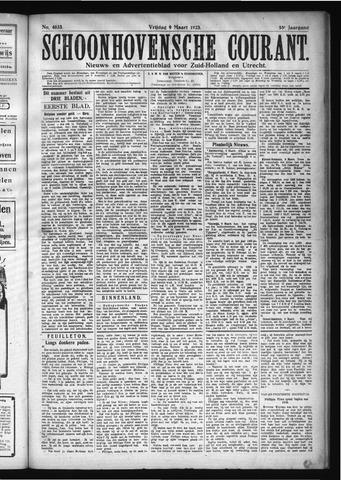Schoonhovensche Courant 1923-03-09