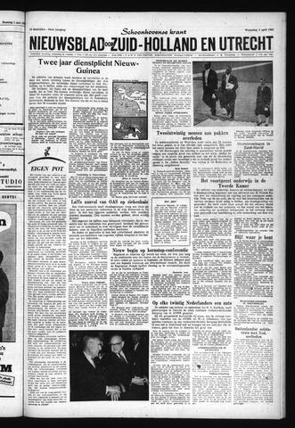 Schoonhovensche Courant 1962-04-04
