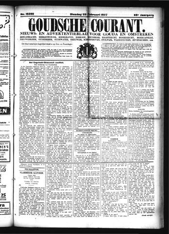 Goudsche Courant 1927-02-22
