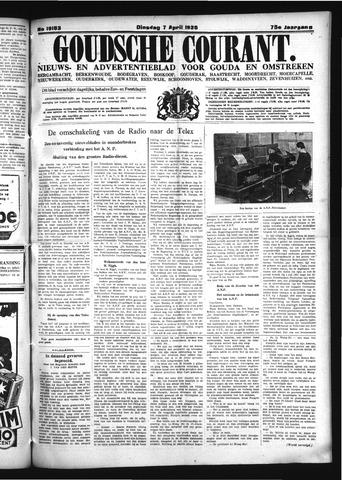 Goudsche Courant 1936-04-07