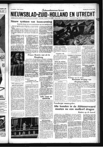 Schoonhovensche Courant 1962-11-26
