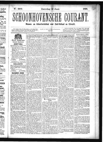 Schoonhovensche Courant 1896-06-20