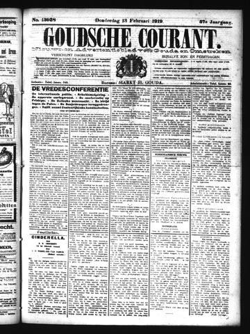 Goudsche Courant 1919-02-13