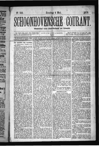 Schoonhovensche Courant 1879-05-04