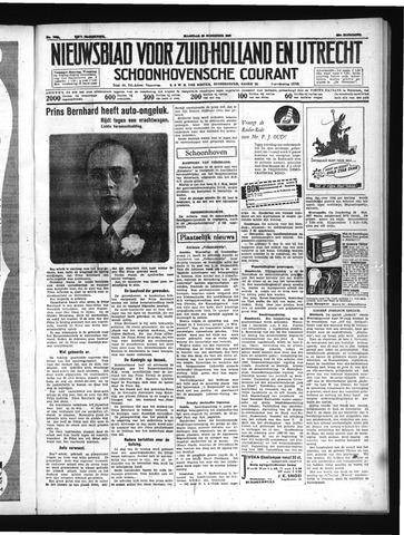 Schoonhovensche Courant 1937-11-29