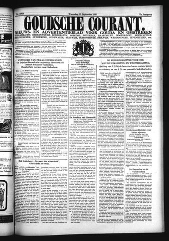 Goudsche Courant 1938-09-21
