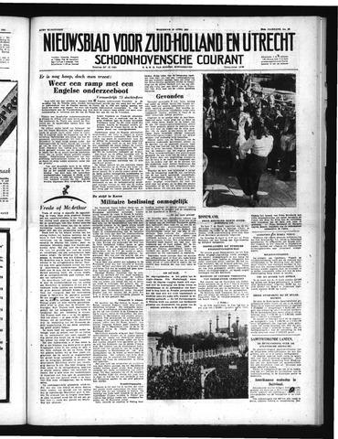 Schoonhovensche Courant 1951-04-18