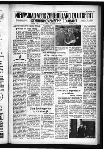 Schoonhovensche Courant 1954-01-15
