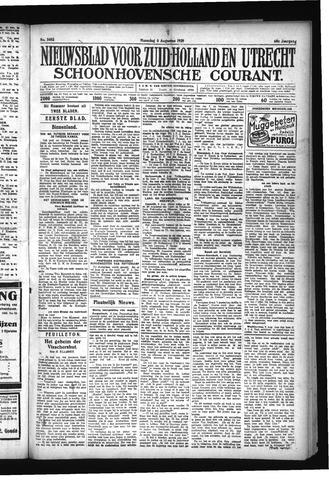 Schoonhovensche Courant 1928-08-06
