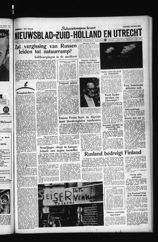 Schoonhovensche Courant 1961-11-01