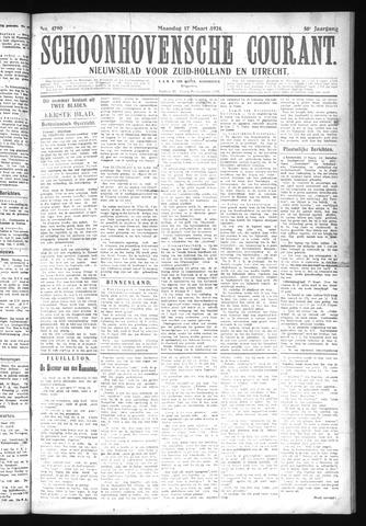 Schoonhovensche Courant 1924-03-17