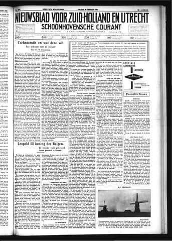 Schoonhovensche Courant 1934-02-23