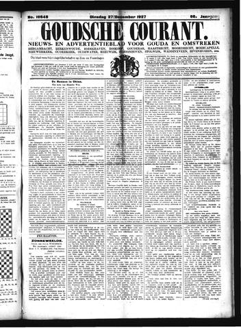 Goudsche Courant 1927-12-27