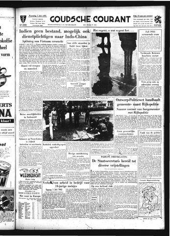 Goudsche Courant 1954-07-07