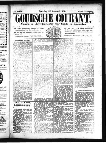 Goudsche Courant 1906-01-20