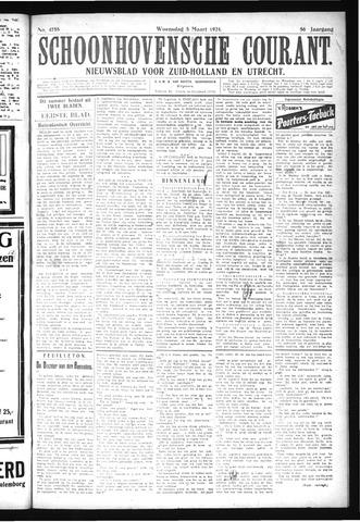 Schoonhovensche Courant 1924-03-05