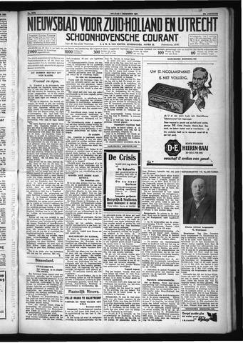 Schoonhovensche Courant 1931-12-04
