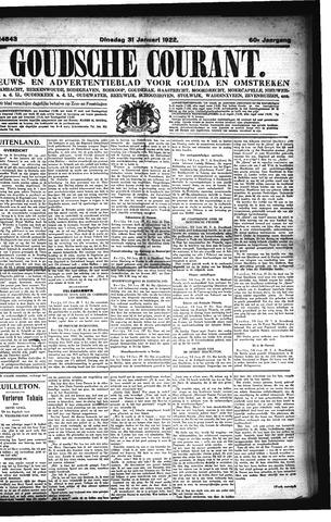 Goudsche Courant 1922-01-31