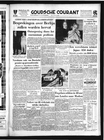 Goudsche Courant 1959-09-28