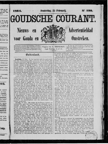Goudsche Courant 1864-02-25