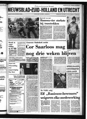 Schoonhovensche Courant 1977-07-25