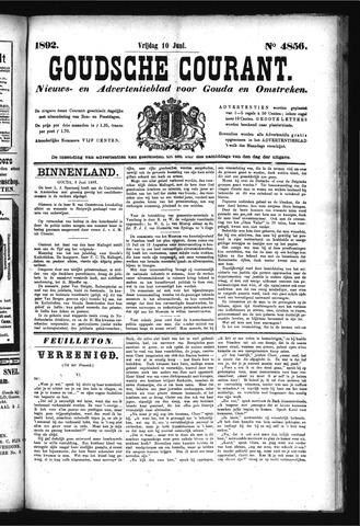 Goudsche Courant 1892-06-10