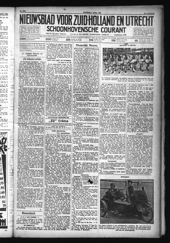 Schoonhovensche Courant 1932-04-04