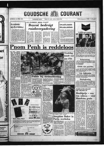 Goudsche Courant 1975-04-12