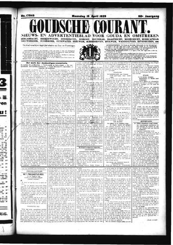 Goudsche Courant 1929-04-15