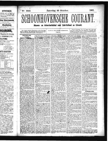 Schoonhovensche Courant 1901-10-26