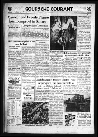 Goudsche Courant 1960-04-01