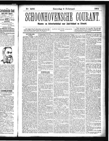 Schoonhovensche Courant 1904-02-06