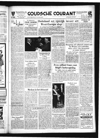 Goudsche Courant 1951-02-28