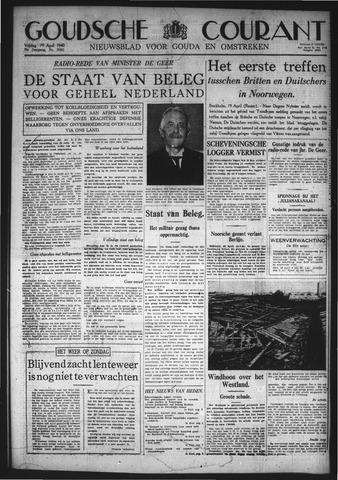 Goudsche Courant 1940-04-19