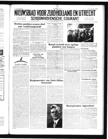 Schoonhovensche Courant 1952-05-14