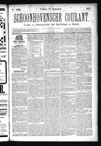 Schoonhovensche Courant 1917-08-17